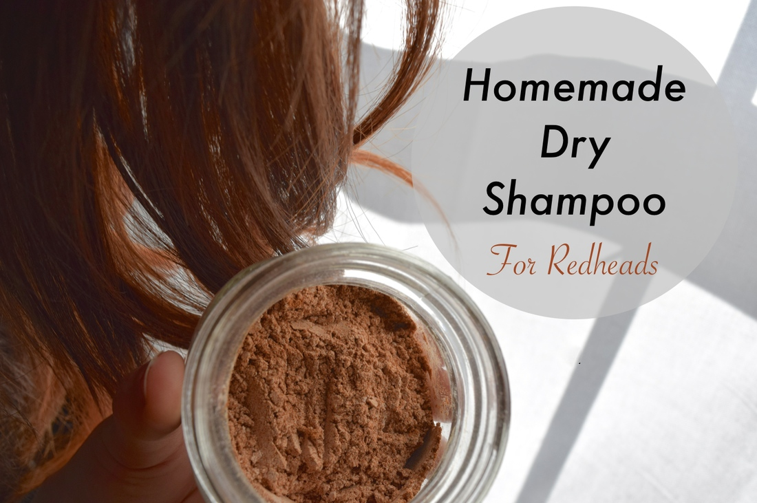 Dry Shampoo for Redheads RECIPE: arrowroot powder, cinnamon, and nutmeg