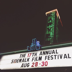 Carver Theatre in Downtown Birmingham at the 17th Annual Sidewalk Film Festival August 28-30th