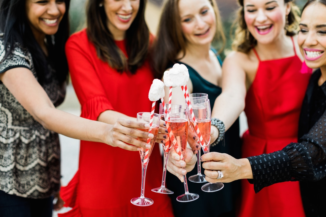 Galentine's Day Party Inspiration: Mom's Night In