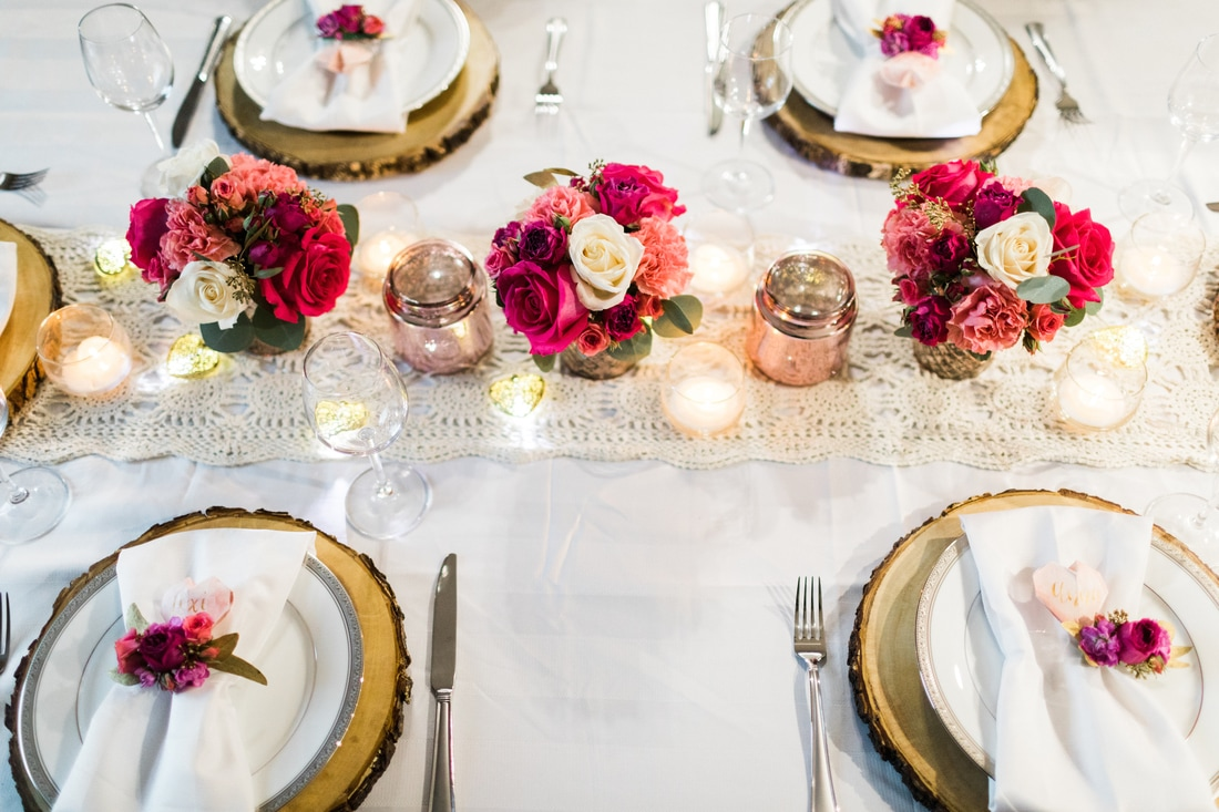 Galentine's Day Party Tablescape Inspiration by Chic in Academia