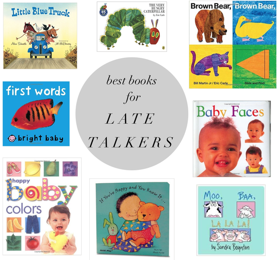Best Books + 5 Thoughts on Receptive Language for Parents with Late-Talking Toddlers